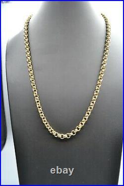 9ct Gold Heavyweight Belcher Chain