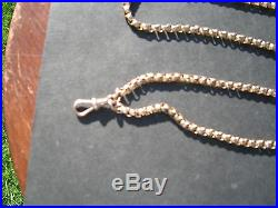 9ct Gold Long Guard Chain Necklace