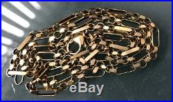 9ct Gold Men's/Women's Quality Vintage Chain Nice W9.6g Length 20 Hallmarked