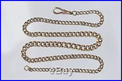 9ct Gold Necklace. 15.5 47.5 grams stamped. 375 on every link stunning one off