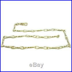 9ct. Gold' Pre-Owned' 19 Fancy Albert Chain