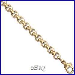 9ct Gold Round Belcher Chain 24 inch