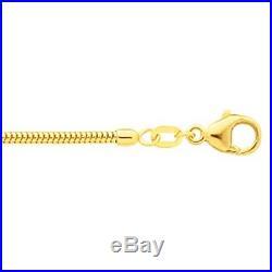 9ct Gold Snake Chains 16 24 U. K. Made Full Hallmarks