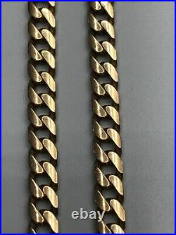 9ct Gold Solid Curb Chain