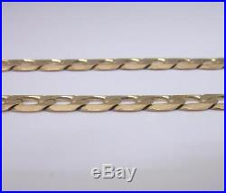 9ct Gold Solid Heavy Curb Chain 20 Inch 30.4 g High Street RRP £915