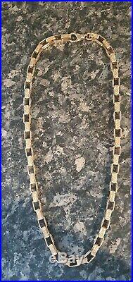9ct Gold Square Belcher Chain