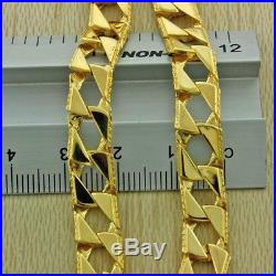 9ct Gold Textured Square Curb Chain 22.5 43.1g British Hallmark RRP£1645 IJ13