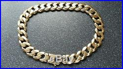 9ct Gold Traditional Heavyweight Curb Chain Necklace 55cm 422.5 grams