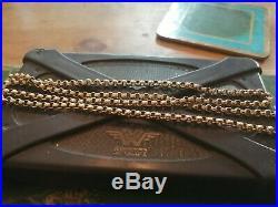 9ct Gold Vintage Belcher Chain Necklace