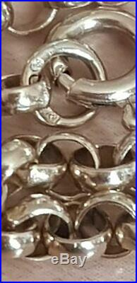 9ct Gold Women / Mens Belcher 14g Heavy Chain 26