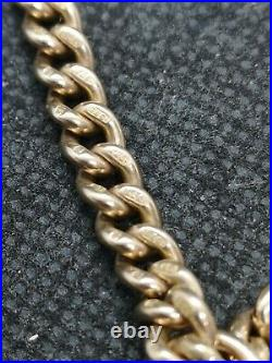 9ct Rose Gold Albert Chain
