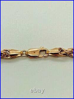 9ct Rose Gold Rope Chain 5.0mm 26 CHEAPEST ON EBAY