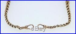9ct Rose Gold T Bar Single Albert Chain