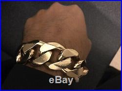 9ct Super Heavy Weight Gold Chain (Bracelet)