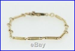 9ct Yellow Gold Fancy Chain Link Bracelet