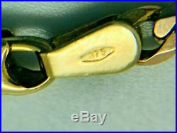 9ct Yellow Solid Gold Curb Chain 20