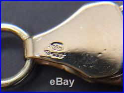 9ct Yellow Solid Gold Curb Chain 21 ½