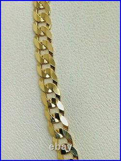 9ct Yellow Solid Gold Curb Chain 4.4mm 24 CHEAPEST ON EBAY