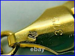 9ct Yellow Solid Gold Curb Chain 9.3mm 22 CHEAPEST ON EBAY
