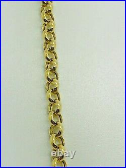 9ct Yellow Solid Gold Round Belcher Chain 4.0mm 20 CHEAPEST ON EBAY