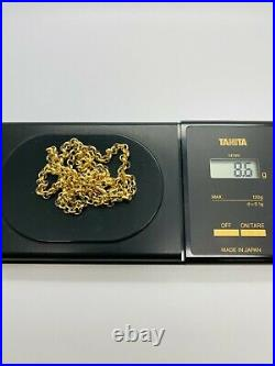 9ct Yellow Solid Gold Round Belcher Chain 4.0mm 24 CHEAPEST ON EBAY