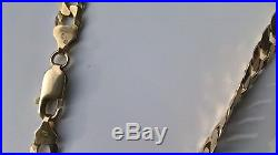 9ct gold 20 inch curb chain 31.2 grams not scrap