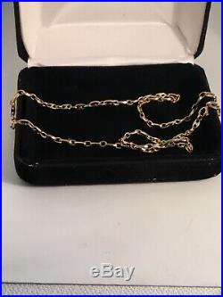 9ct gold Gucci Link Fancy Chain/Necklace