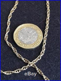 9ct gold Spiral Link Chain