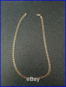 9ct gold chain 14.1g not scrap