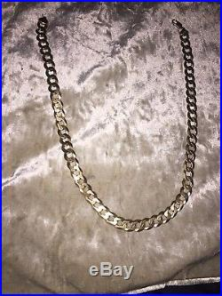 9ct gold chain 89.47 grams solid gold