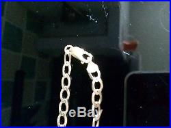 9ct gold chain And Double Cross
