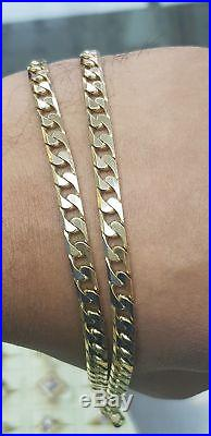 9ct gold curb chain / 31.6g / 375 Hallmarked No Reserve / Not scrap / gift