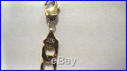 9ct gold curb chain 32.6gr