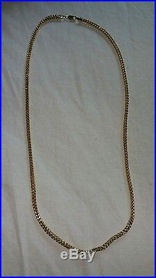 9ct gold fancy designer link chain