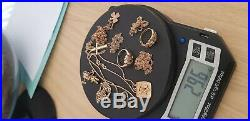 9ct gold rings pendants and chains scrap or wear