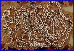 9ct solid gold 20 belcher chain necklace. Hallmarked. New. Boxed. For pendants