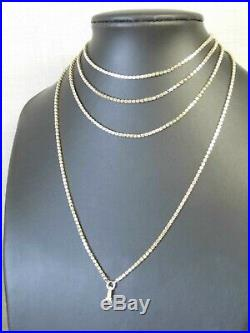 A SUPERB 9 CT GOLD VICTORIAN ANTIQUE MUFF/GUARD FANCY LINK CHAIN 60 Inches