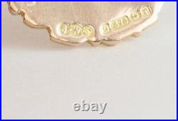 Antique 9Ct Yellow And Rose Gold Fob Medal / Pendant For Watch Chain