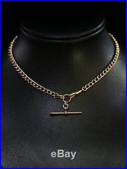 Antique 9ct Gold Albert Chain Necklace