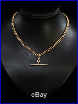Antique Rose 9ct Gold Albert Chain