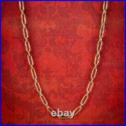 Antique Victorian Chain 9ct Gold Circa 1900