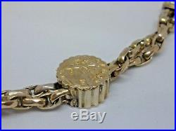 Antique circa Early 1800s 9ct gold Albert/Fob chain with T bar (Beautiful)