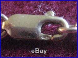Beautiful Heavy 9 Ct Gold Ladies Men's Belcher Chain 39 Grams