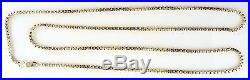 Beautiful Heavy 9ct Gold Box Chain (30 28.1g) Hallmarked Necklace 9k 375