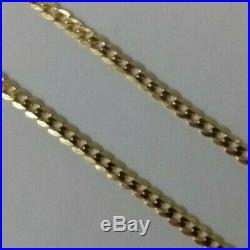 Brand New 9ct Gold Curb Chain Necklace 20 inch 4.7 grams £200 Freepost