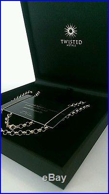 Brand new! Stamped, men's solid 9ct gold belcher chain, necklace