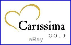 Carissima Gold 9 ct Gold Men's Curb Necklace Flat Curb Chain 61cm/24