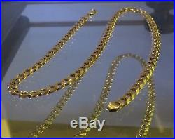 Chain HEAVY around 37 grams HEAVY FULLY HALLMARKED 9CT GOLD CURB S TYLE CHAIN /