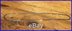 Classic Unisex 9ct Gold Curb Chain 20
