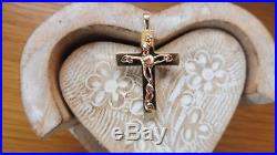 Clogau 9ct gold and welsh gold tree of life cross/pendant (no chain)